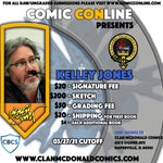 KELLEY JONES COMIC CONLINE SIGNATURE OPP