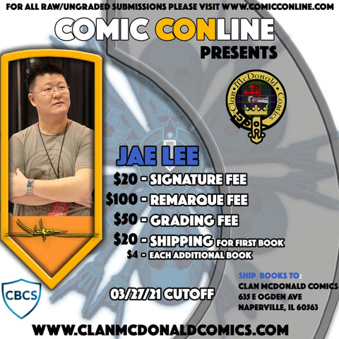 JAE LEE COMIC CONLINE SIGNATURE OPP