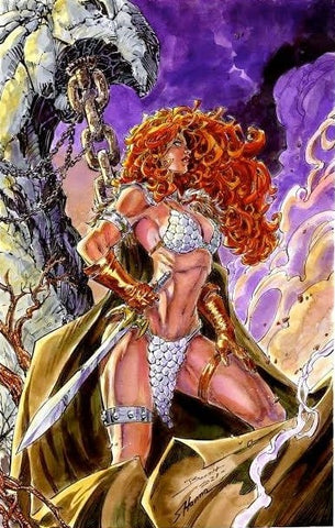 CMC EXCLUSIVE RED SONJA 1982