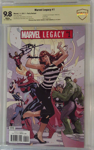 Marvel Legacy #1 9.8 CBCS Yellow Label