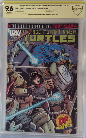 Teenage Mutant Ninja Turtles: Secret History of the Foot Clan #1 9.6 CBCS Yellow Label