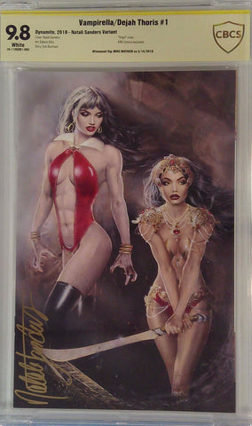 Vampirella/Dejah Thores #1 9.8 CBCS Yellow Label