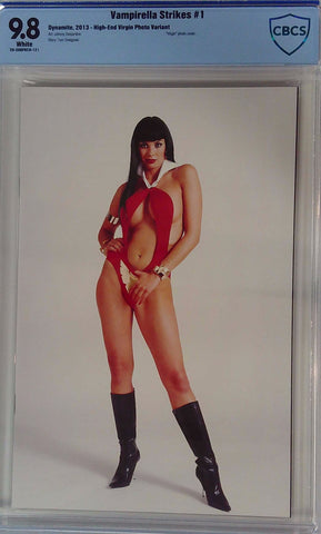 Vampirella Strikes #1 9.8 CBCS Blue Label