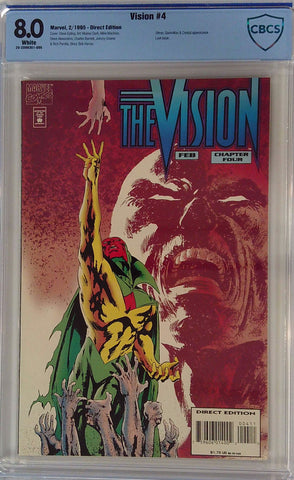 Vision #4 8.0 CBCS Blue Label
