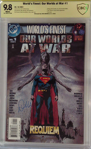 World's Finest: Our Worlds at War #1 9.8 CBCS Yellow Label