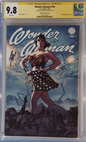 Wonder Woman #750 9.8 CGC Yellow Label