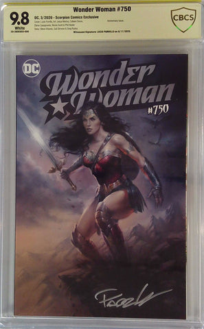 Wonder Woman #750 9.8 CBCS Yellow Label