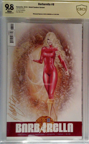 Barbarella #8 CBCS 9.8 Yellow Label Natali Sanders Variant