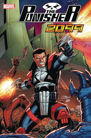 PUNISHER 2099 #1 RON LIM VAR