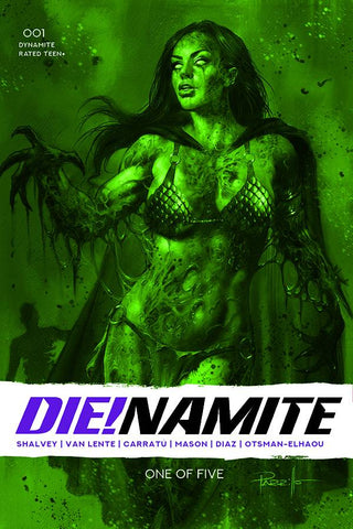 DIE!NAMITE #1 13 COPY PARILLO DRESSED GANGRENE GREEN TINT FO
