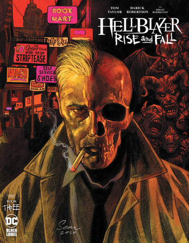 HELLBLAZER RISE AND FALL #3 (OF 3) (MR)