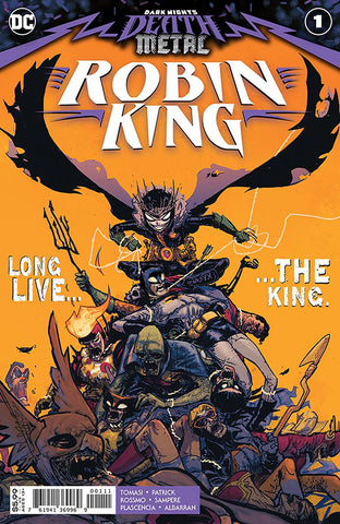 DARK NIGHTS DEATH METAL ROBIN KING #1 TOMASI SGN (C: 0-1-