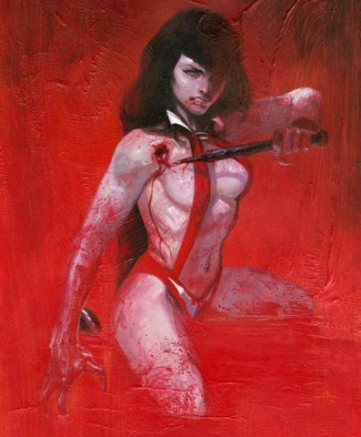 Vampirella: Trial of the Soul  #1 Gabriele Dell'otto Virgin Variant Set
