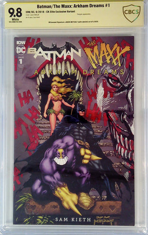 Batman / The Maxx: Arkham Dreams #1 9.8 CBCS Yellow Label