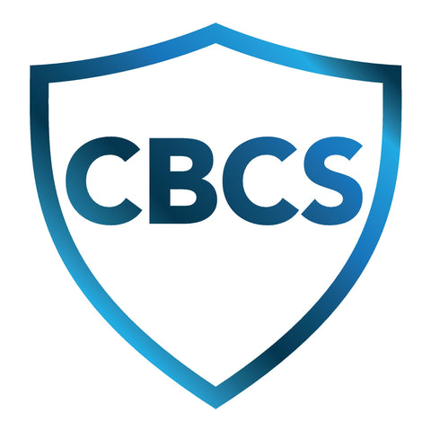 CBCS Yellow Label Grading Verified signature