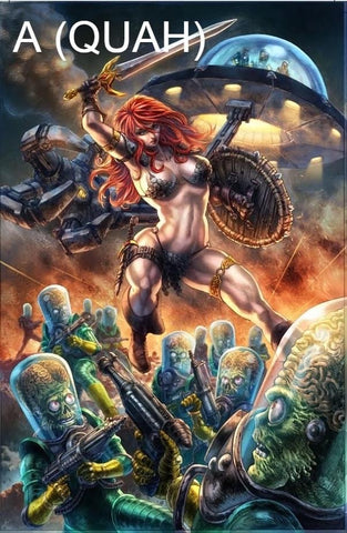 Mars Attacks Red Sonja #1 SET