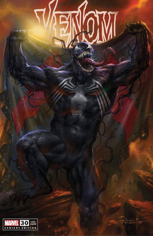 Venom #30 CMC Exclusive by Lucio Parillo TD/Virgin Set