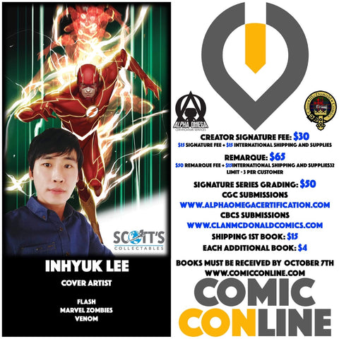 INHYUK LEE COMIC CONLINE SIGNATURE OPP