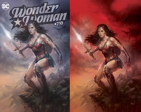 WONDER WOMAN #750 LUCIO PARRILLO EXCLUSIVE  COVER A/B SET
