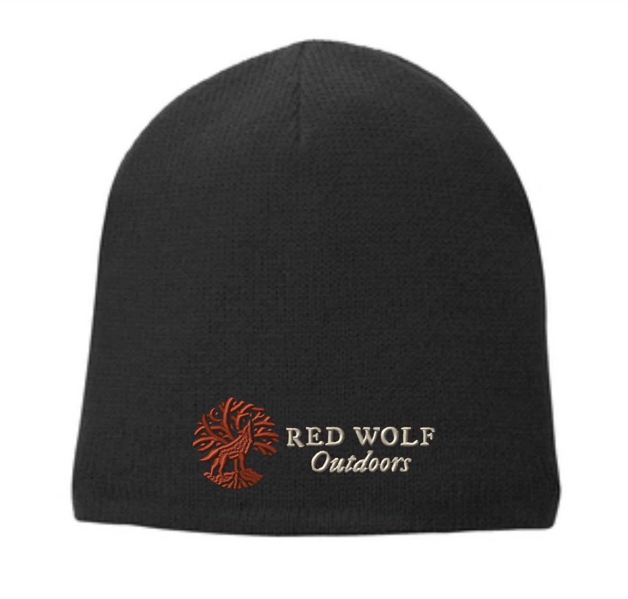 Red Wolf Outdoors Signature Beanie Hat