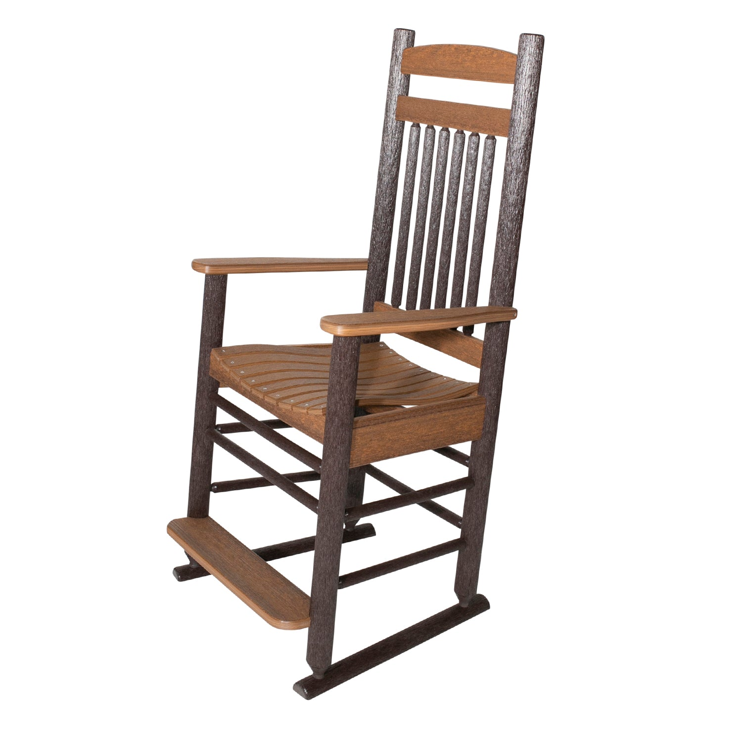Americana Rustic PolyLog Balcony Height Captain's Chair