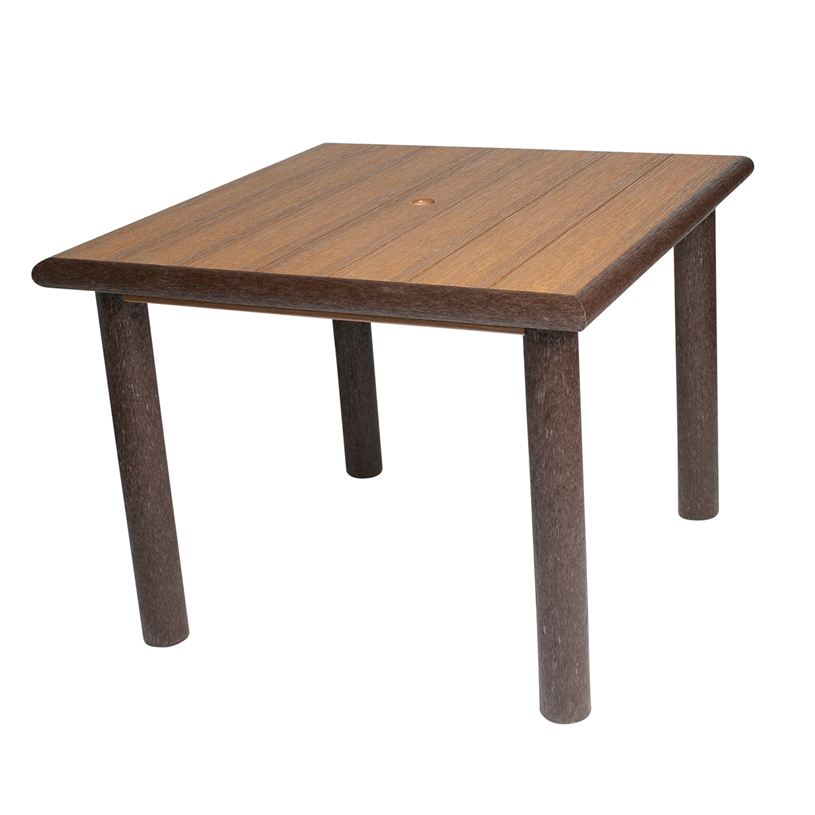 Great Woods Rustic PolyLog Dining HeightTable