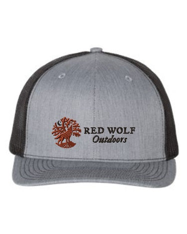 Red Wolf Outdoors Heather & Black Trucker Cap