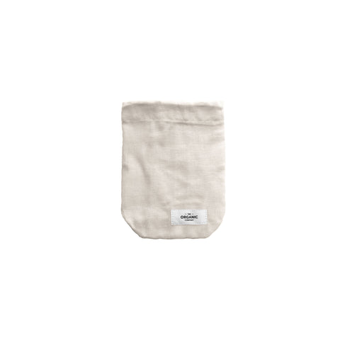 Small Food Bag in Stone Colourway by The Organic Company