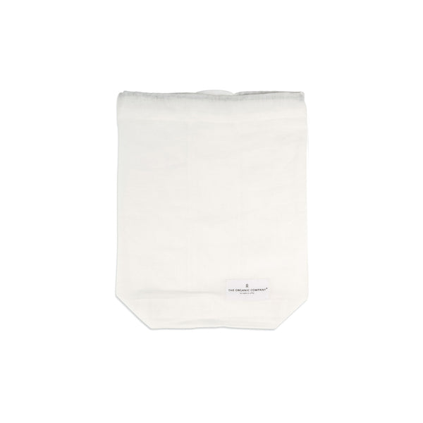 Medium Food Bag in Natural White by The Organic Company