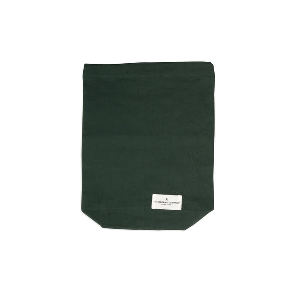 Medium Food Bag in Dark Green by The Organic Company