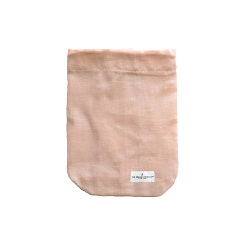 Medium All Purpose Bag in Pale Rose Pink by The Organic Company