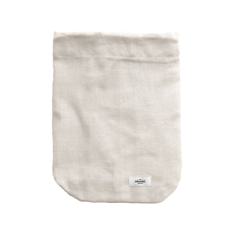 Large Food Bag in Stone by The Organic Company