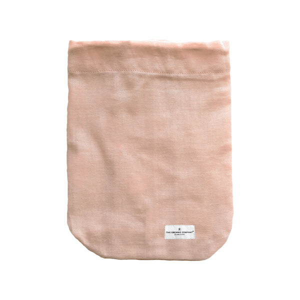 Large All Purpose Bag in Pale Rose Pink by The Organic Company