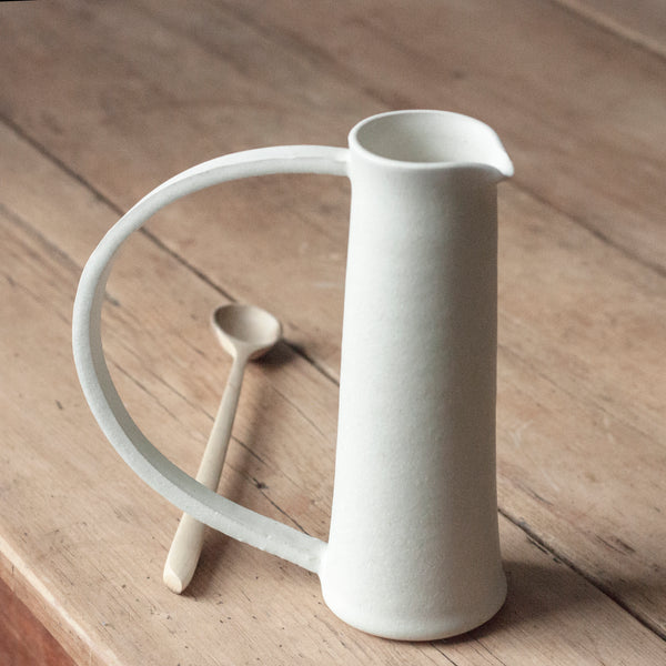 Water Jug with Large Handle | Two Colourways by Hands On Clay