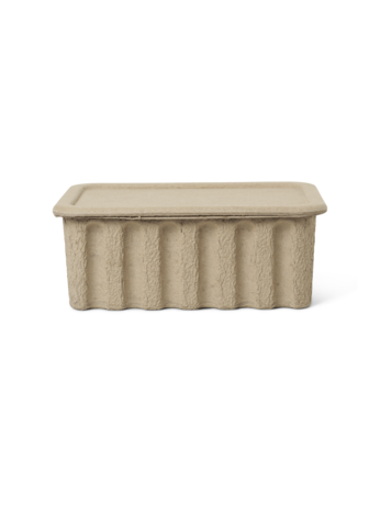 Paper Pulp Storage Box - large - set of 2 - by ferm LIVING