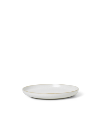 Sekki Side Plate - Cream - Small - by ferm Living