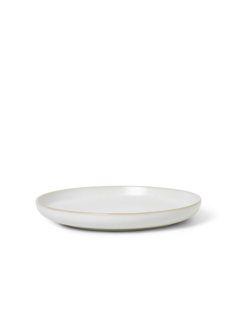 Sekki Dinner Plate - Cream - Small - by ferm Living