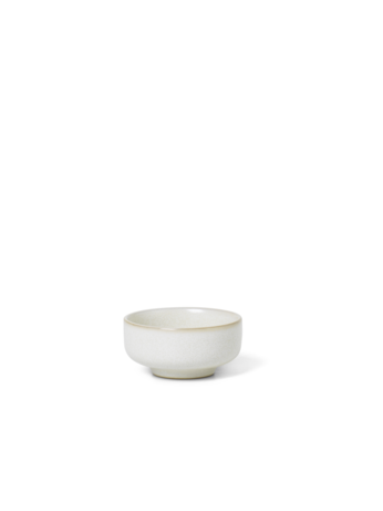 Sekki Salt Jar / Nibble Bowl - Cream - by ferm Living