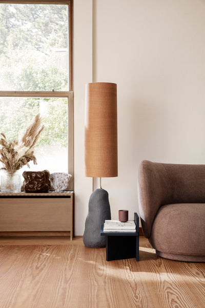 Hebe Lamp Shade - Long - Curry - by ferm LIVING