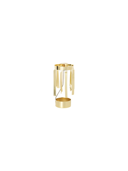 Tangle Tealight Angel Chime in Gold by ferm Living