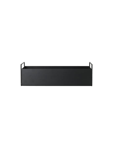 Plant Box Black Small by ferm Living