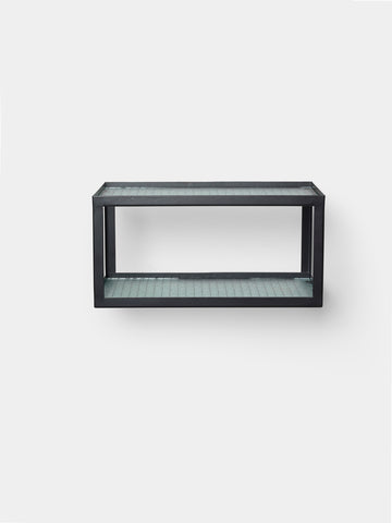 Haze Shelf - glass and metal - by ferm LIVING