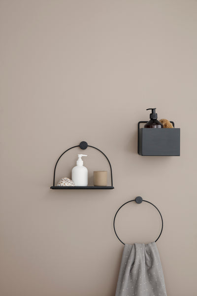 Bathroom Shelf - Brass by ferm LIVING
