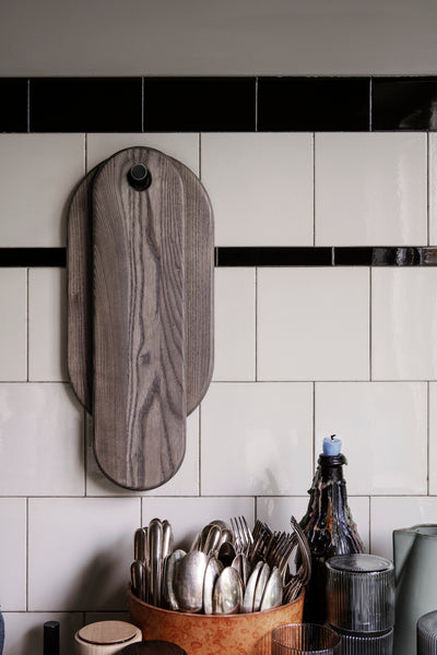 Stage Board Set of 2 - Rustic Grey - by ferm Living