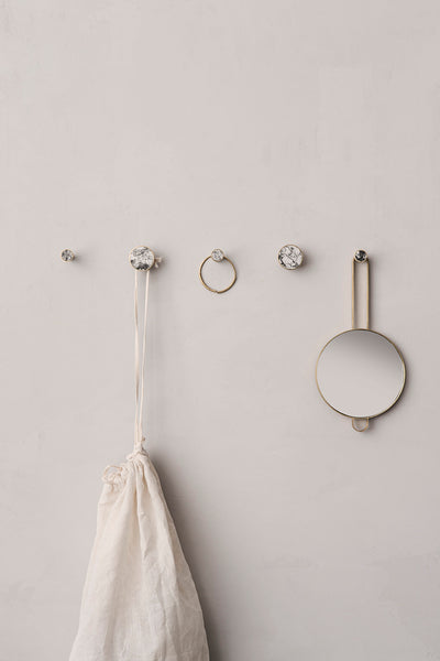 Hook - Stone - Small - Marble by ferm LIVING