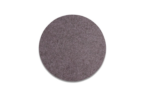 Placemat / table mat in dark grey felt by HAY