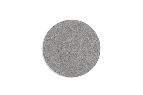 Placemat / table mat in light grey felt by HAY