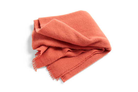 Mono blanket in Rosehip Coral - by HAY