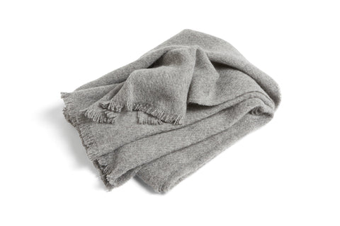 Mono blanket in Steel Grey - by HAY