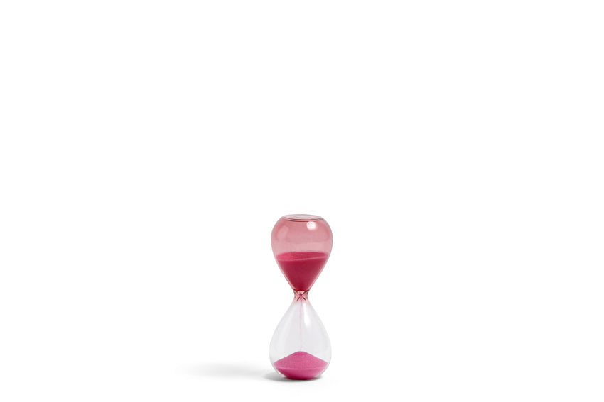 Time - 3 minute egg timer - Small - Pink by HAY